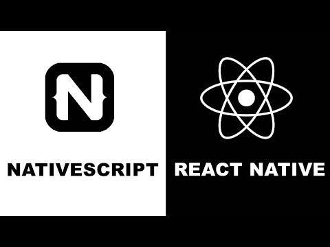 NativeScript VS React Native 2019   performance   community   plugins