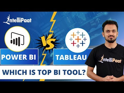 Tableau vs Power BI | Top BI Tools 2020 | Power BI vs Tableau | Intellipaat