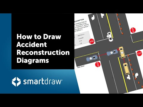 How to Draw Accident Reconstruction Diagrams and Sketches