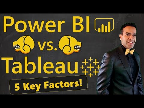 Power BI vs Tableau 🔥 5 Factors to Choose a Winner