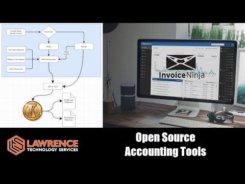 The OpenSource Accounting Tools We Use: KmyMoney & InvoiceNinja