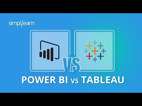 Power Bi vs Tableau | Power Bi And Tableau Difference | Power Bi And Tableau Comparison |Simplilearn