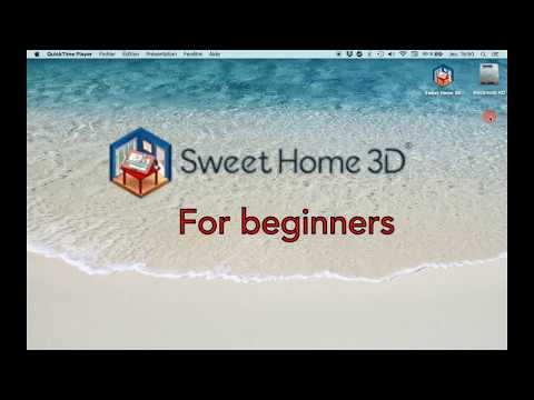 Sweet Home 3D for beginners