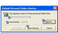 Outlook Personal Folder Backup