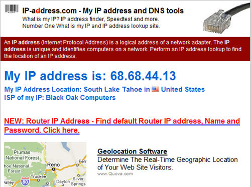 US based IP Address