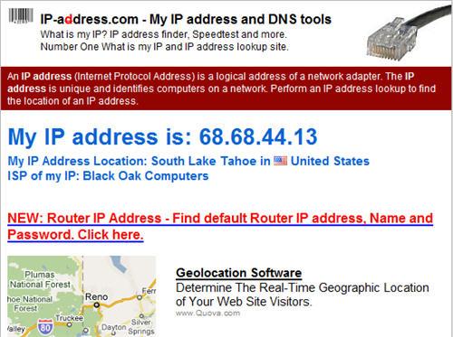 US based IP Address