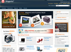 Magento Store Front Demo