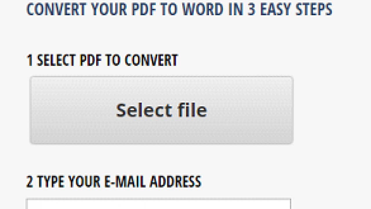 Get Free PDF to Word Online Conversion In 3 Steps
