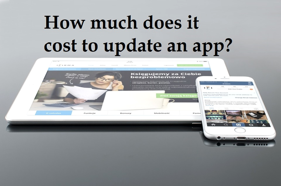 how much does it cost to update an app