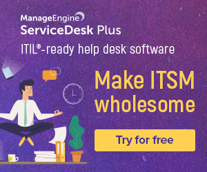ManageEngine Service Desk