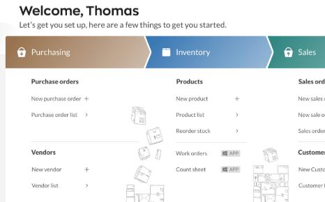 Inventory Management Solution Dashboard
